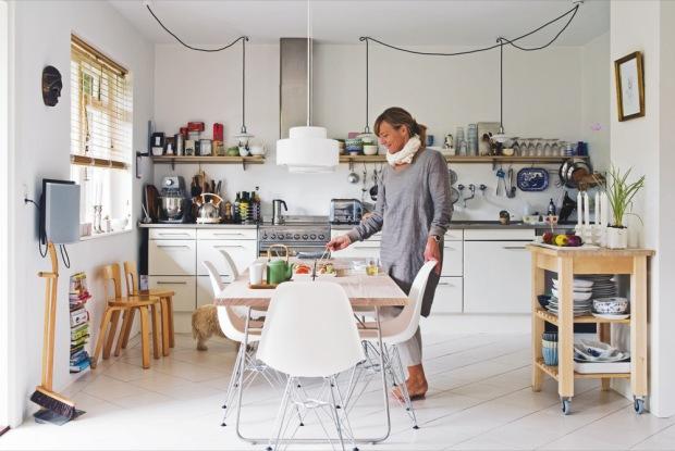 Lille lykke een gezellige familie keuken - Gezellige keuken ...