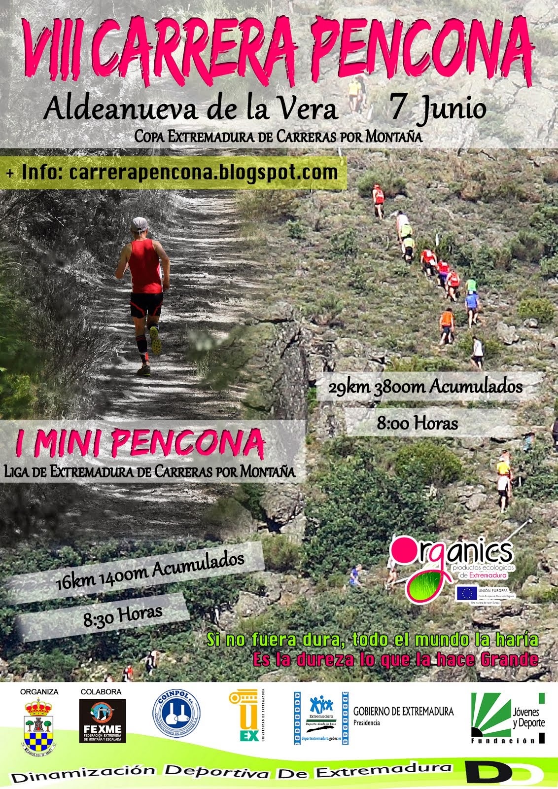 VIII CARRERA PENCONA Domingo 7 Junio 8:00