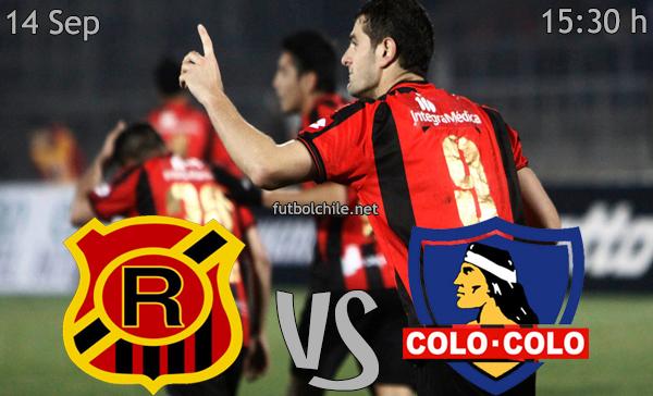 Rangers vs Colo Colo - Campeonato Apertura - 15:30 h - 14/09/2013