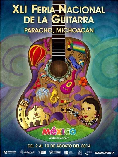 Feria de la guitarra paracho michoacán 2014