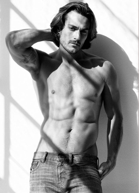 Soul Artist model John Kenney photographed by Greg Vaughan