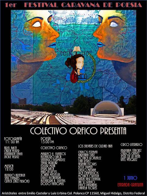 Primer Festival Caravana de Poesía 2013 en Polanco