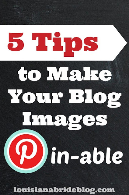 Tips for Making Your Blog Photos Pin-Worthy