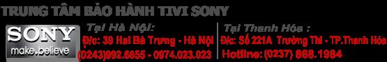 Trung tâm bảo hành tivi SONY - Miễn phí | 0974.023.023