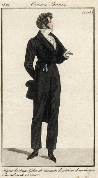 Costume Parisien 1821
