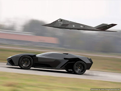 Carro conceito Lamborghini Ankonian