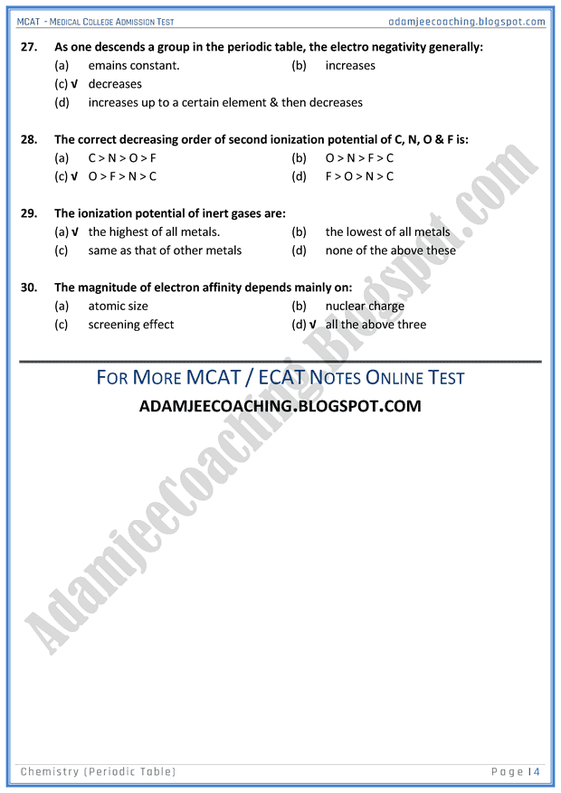 mcat-chemistry-periodic-table-mcqs-for-medical-entry-test
