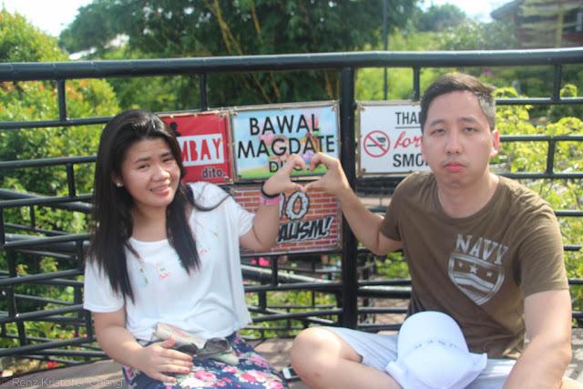 Gigi Malit and Renz Cheng in Baker's Hill, Palawan
