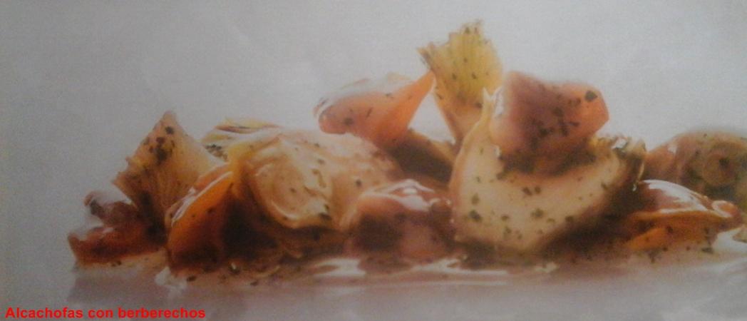 La receter a alcachofas con berberechos - Como cocinar berberechos ...