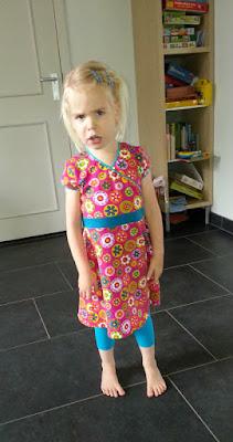 Ottobre prinses castle jurk