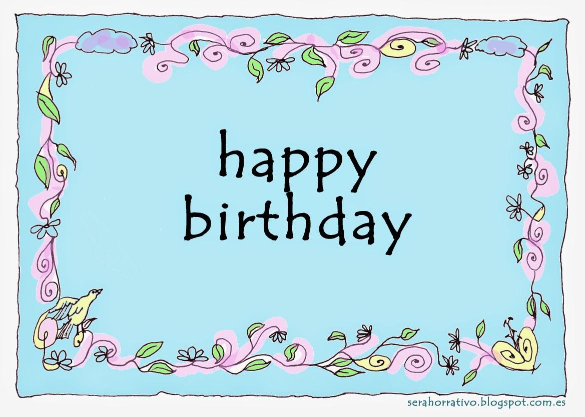 tarjeta gratis cumpleaños