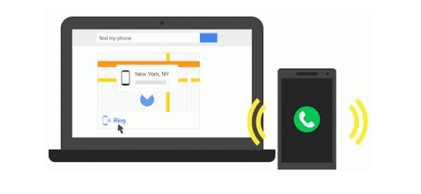 جوجل تساعدك على تحديد مكان هاتفك  المسروق بدون برامج