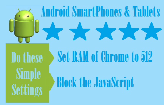 How to enhance the browsing Speed of your Android smart phone or Table