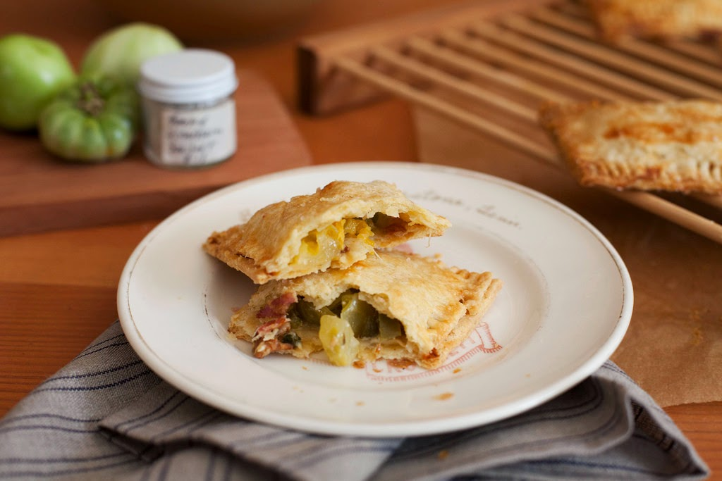 Heirloom Tomato Hand Pies