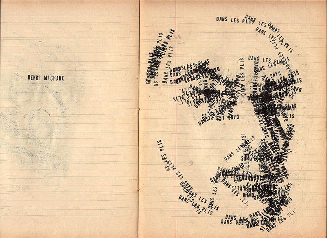 Henri Michaux textes