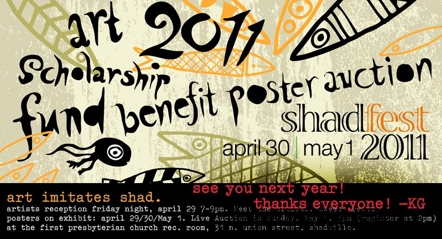 2011 shadfest art poster scholarship fund