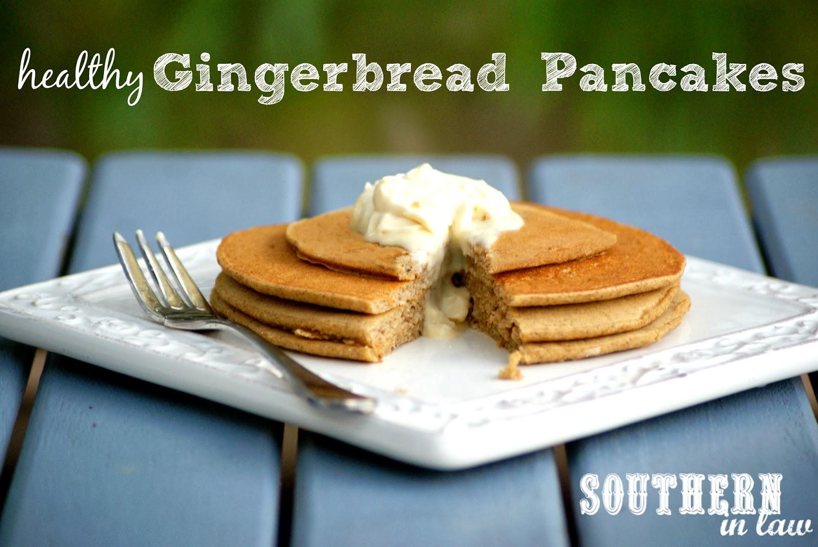 Healthy Gingerbread Buckwheat Pancakes Recipe - Gluten Free, Low Fat, Sugar Free
