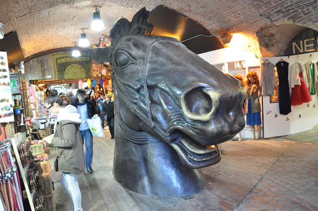 Camden Town Market Giant Horse at Stables Market