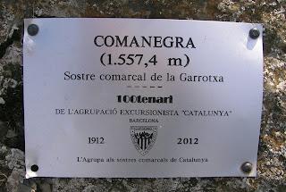 Comanegra (Sostre comarcal de la Garrotxa)