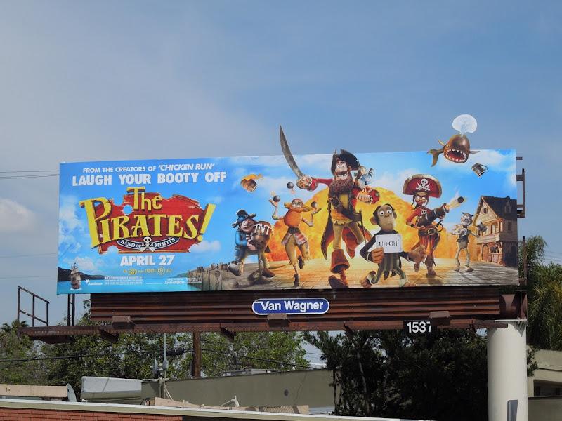 Pirates Band of Misfits billboard