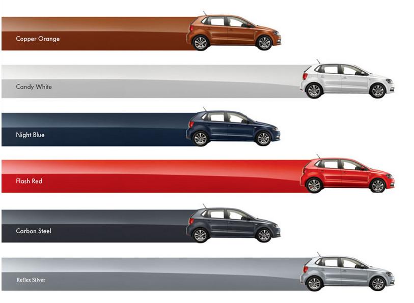 Volkswagen Polo 2014 Colours Automobile Planet
