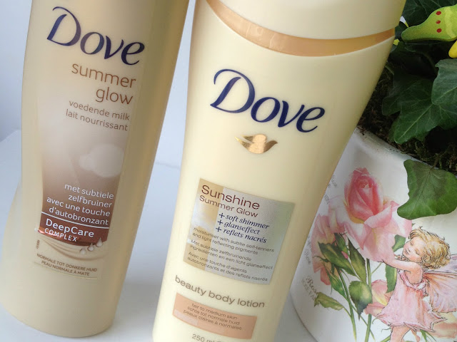 how to use dove summer glow