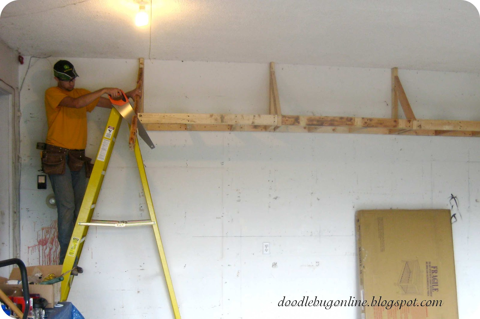 Higher Wall Shelves for occasional-use storage [Archive] - The ...
