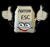 Narrow ESC.