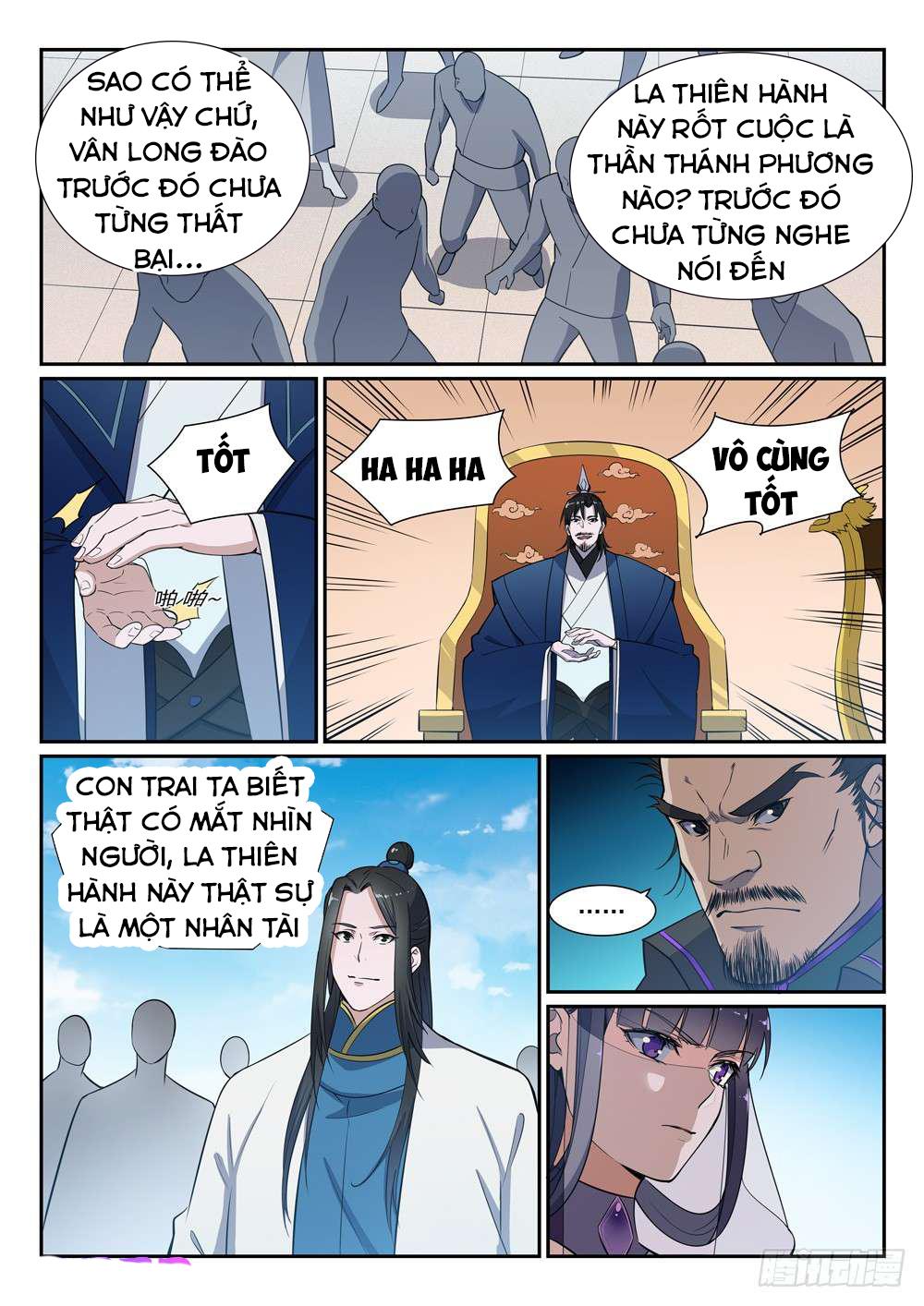 Bách Luyện Thành Thần chap 383 - Trang 4