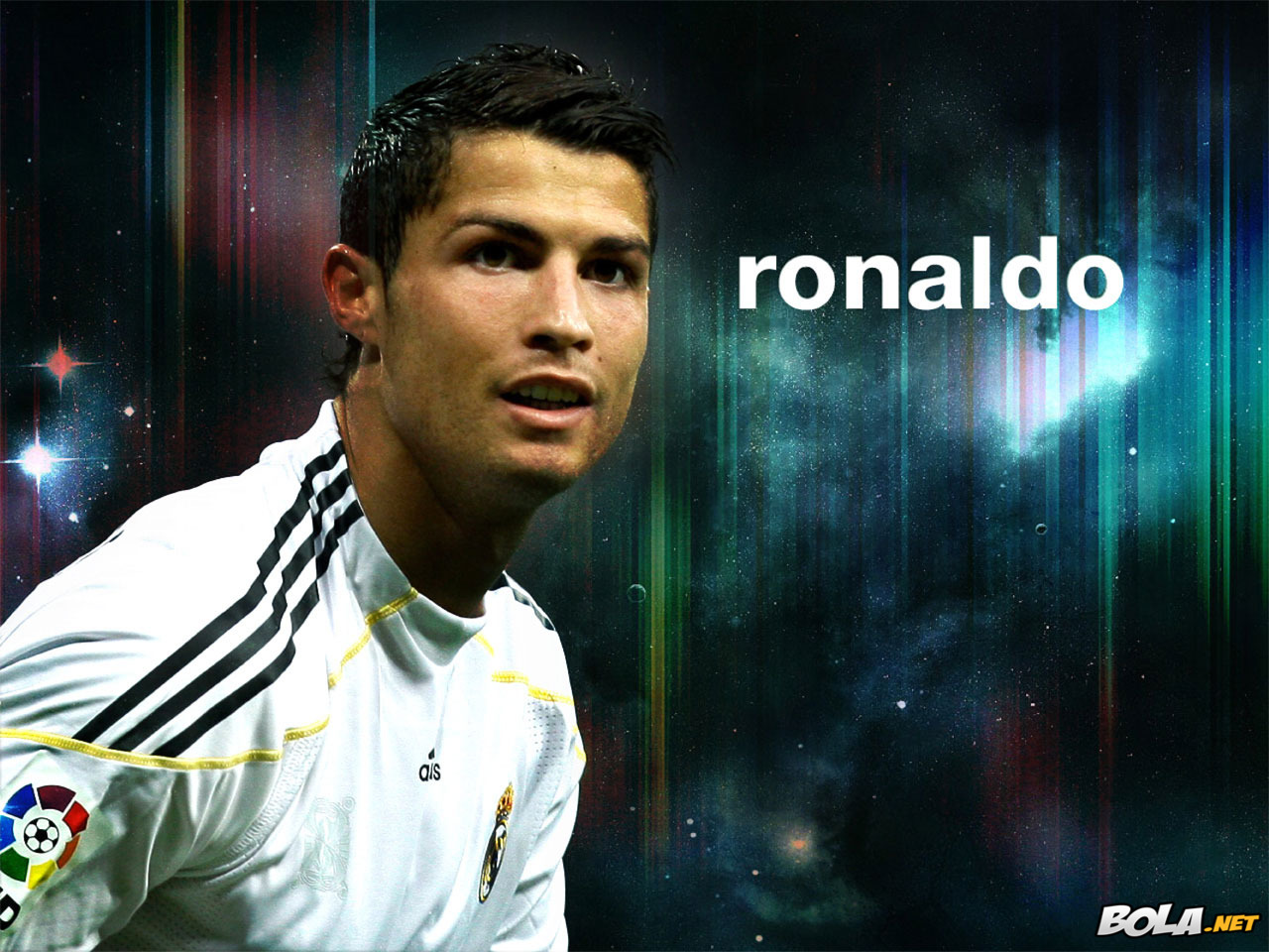 Wallpaper Cristiano Ronaldo Di Real Madrid