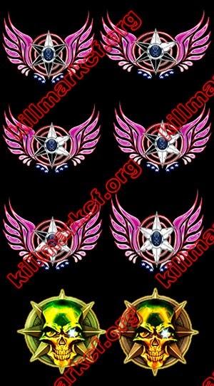 Killmark Silver Stars
