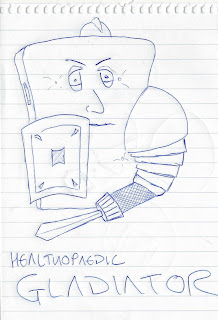 Freddie's interpretation of The Healthopaedic Gladiator 1000