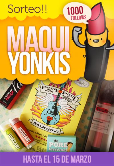 Sorteo Maqui Yonkis