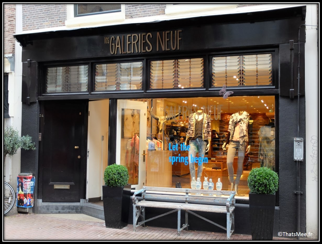 Amsterdam shopping Les Galeries Neuf