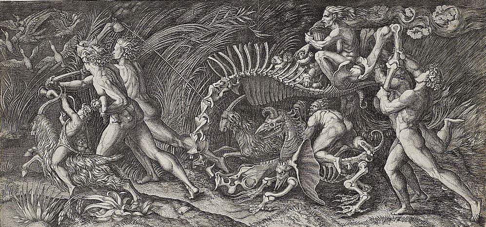 Witchcraft Art Horror of witchcraft was