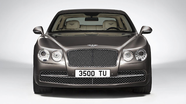 The All-New Bentley Flying Spur front