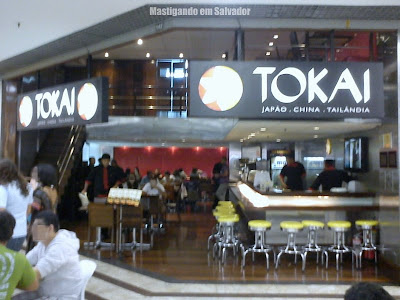 Tokai Restaurante: Fachada da unidade do Shopping Barra