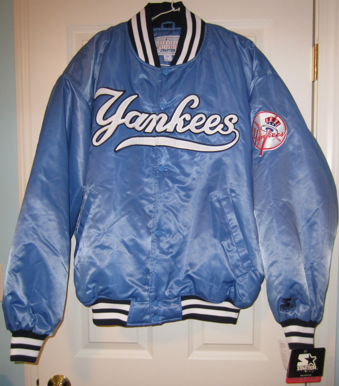 Vintage Sports Apparel: VIntage New York Yankees Starter ...