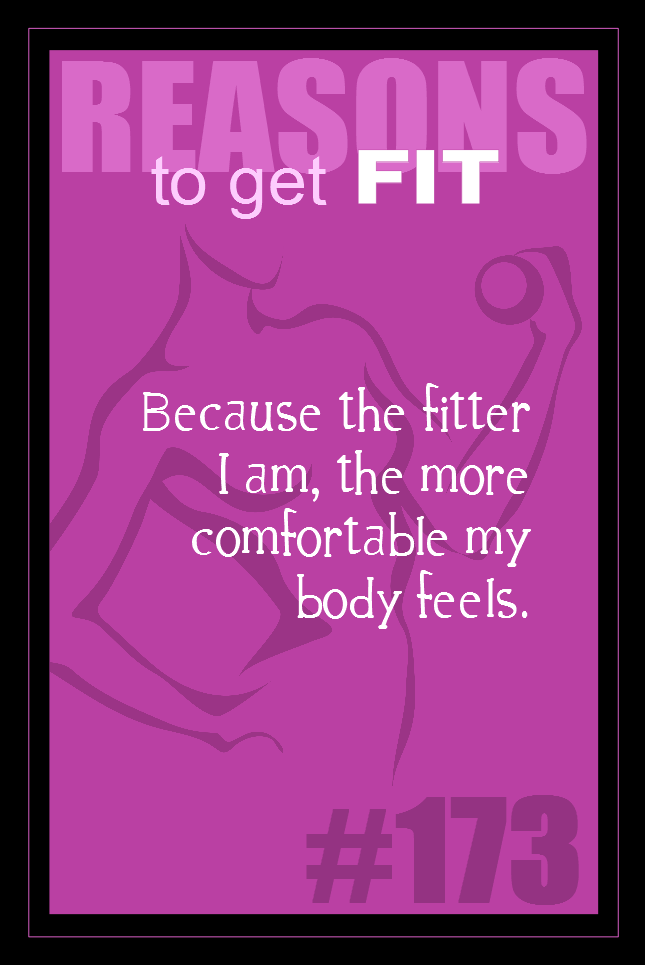 365 Reasons to Get Fit #173