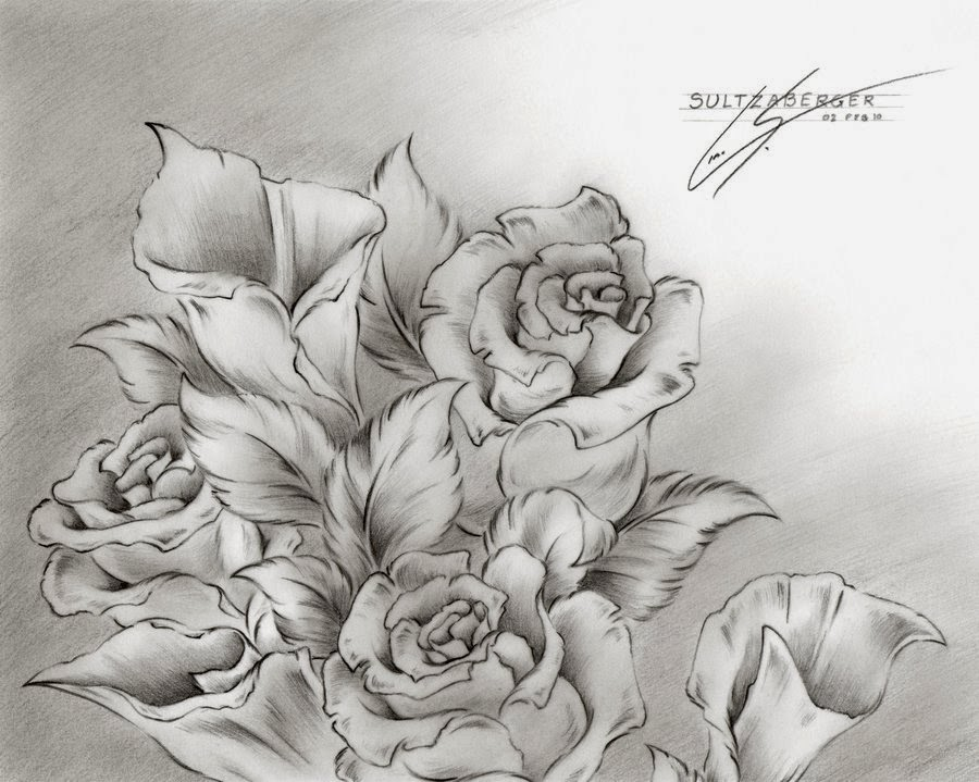 Tumblr Flowers Black And White Drawings Black And White Flower