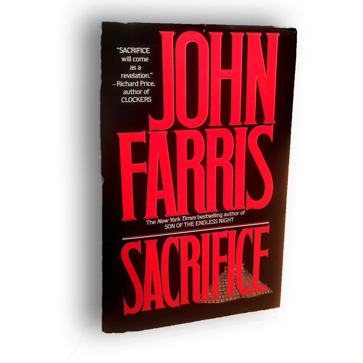 book cover of Sacrifice by John Farris