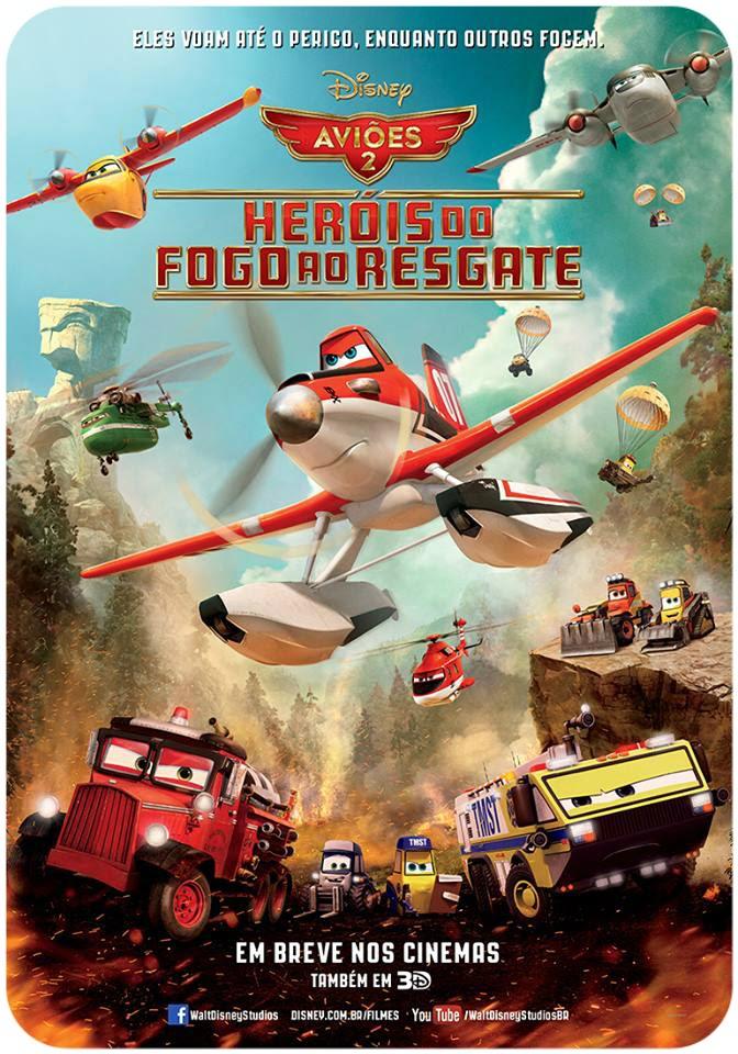 Filme Poster Aviões 2: Heróis do Fogo ao Resgate R5 XviD & RMVB Dublado