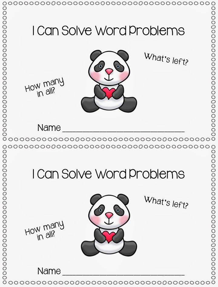 It includes 21 word problems with a february theme