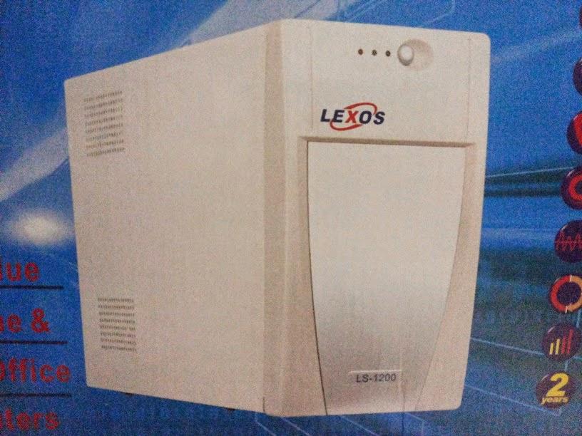 UPS LEXOS 1200VA  GARANSI SPARE PART 2 TAHUN