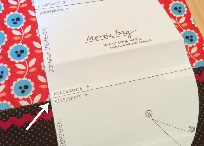 Mozzie Bag - Tipps & Tricks: Die Klebekante als Markierung nutzen