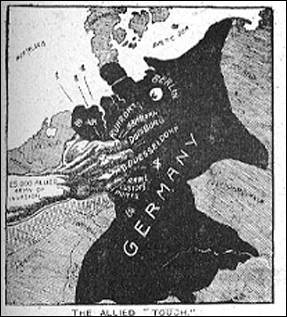 an analysis of the treaty of versailles and the horror for the german people after the world war one