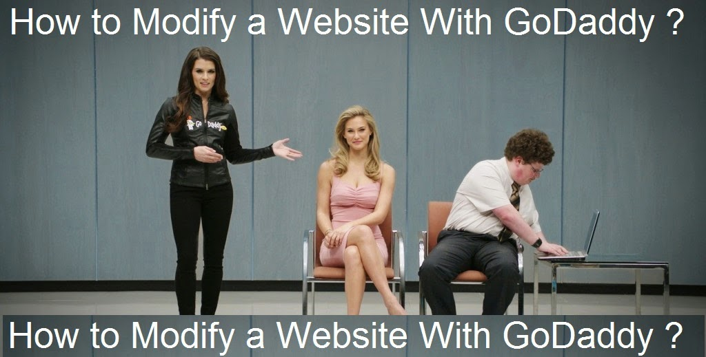 How to Modify a Website With GoDaddy : eAskme