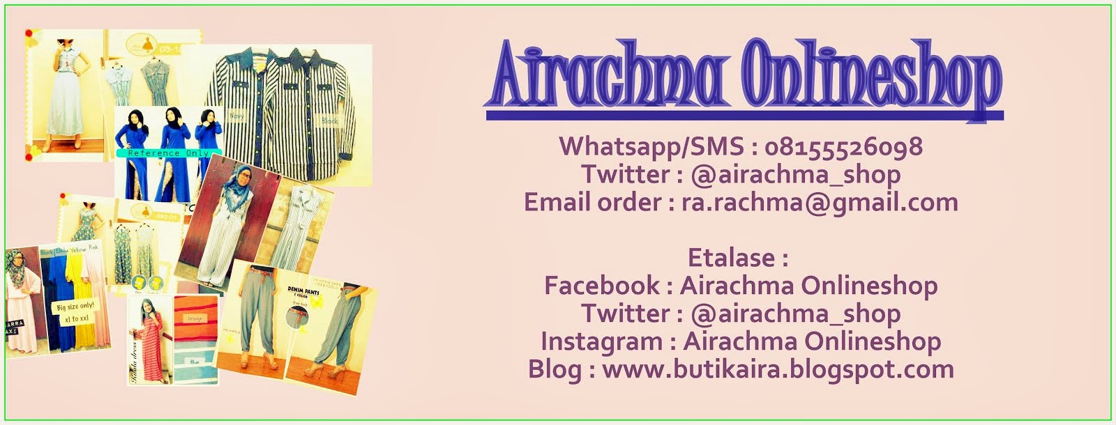 Butik Aira is here for you