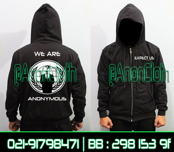 Jaket Anonymous We Are Legion Keren