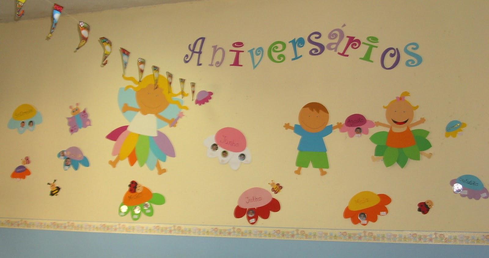 ideias para o outono jardim de infancia : ideias para o outono jardim de infancia:Placar de Aniversários da Sala da Fantasia -Sala 1 Ano